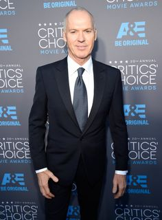 Pin for Later: Toutes Les Stars du Moment Étaient Réunies Sur le Tapis Rouge des Critics' Choice Movie Awards Michael Keaton