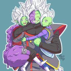 Zamasu Fusion, Merged Zamasu, Zamasu Black, Super Anime, Black Picture, Fandoms, Dragon Ball Z, Black Goku, Geek Stuff