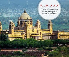 Hey All, It's time to our #TuesdayTrivia. Can you identify this historic palace from #Jodhpur? #TravelTrivia #Tuesday Q/A