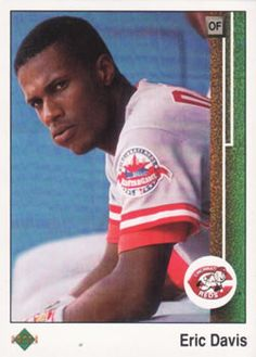 1989 Upper Deck #410 Eric Davis | The Trading Card Database