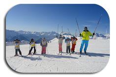 cours collectif enfant Ski, Group, Kid, Skiing