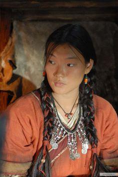 Femme de la Mongolie