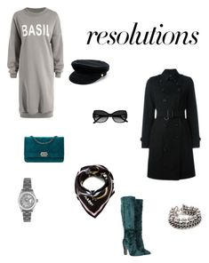 """""""#PolyPresents: New Year's Resolutions"""" by encsikee on Polyvore featuring Dolce&Gabbana, Burberry, Manokhi, Marni, La Perla, Alexander Wang, Rolex, contestentry and polyPresents"""