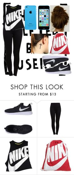 """""""Untitled #242"""" by bae-b-gurl ❤ liked on Polyvore featuring NIKE and Pieces"""