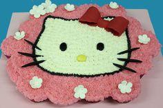 How to make a Hello kitty cupcake cake - video