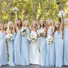 Bridesmaids in blue#bridesmaid #bridesmaidsgift #bridesmaidproposal #willyoubemybridesmaid