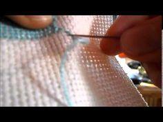 Keresztszemes hímzés - YouTube