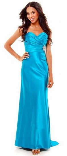 Bridesmaid Dresses? Different color though...