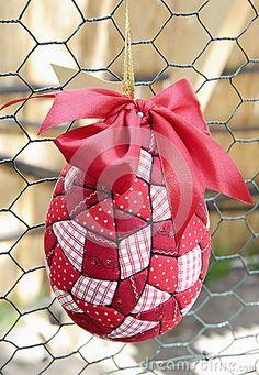 Easter egg patchwork