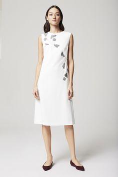 Escada Resort 2016 White Dress - Vivaldi Boutique
