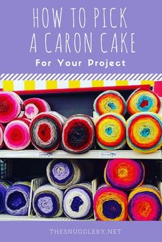Of course, there's no wrong way to use a Caron Cake! But I've come up with a few tricks to help ensure that you get the striping effect you're looking for in y