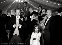 Evening wedding reception at wedding at Langley Priory in Derbyshire. #langleypriory