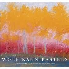 Wolf Kahn Pastels.  This is a wonderful, lyrical and inspiring book.