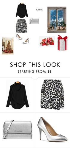 """Christmas"" by lena123-1 ❤ liked on Polyvore featuring New Look and Michael Kors"