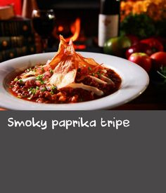 """Smoky paprika tripe 