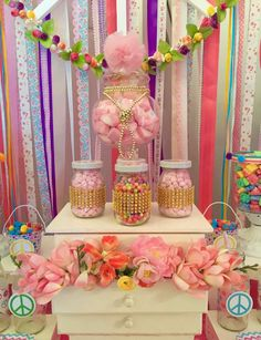 Hippie Chic Birthday Party Ideas | Photo 14 of 20 | Catch My Party