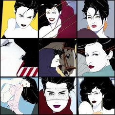 Patrick Nagel. One reason the '80s were so ... odd.