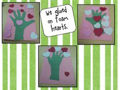 Valentine Trees - Re-pinned by @PediaStaff – Please Visit http://ht.ly/63sNt for all our pediatric therapy pins
