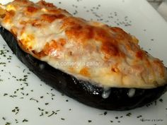 Veggie Recipes, Mexican Food Recipes, Cooking Recipes, Healthy Recipes, Ethnic Recipes, My Favorite Food, Favorite Recipes, Veggie Main Dishes, Eggplant Zucchini