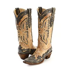 BootDaddy Collection with Corral Tan Phoenix Cowgirl Boots