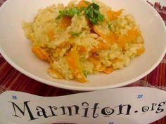 Curry de carottes en risotto : Recette de Curry de carottes en risotto - Marmiton