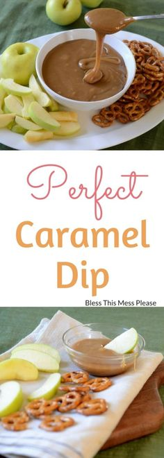 Perfect Caramel Dip Perfect Caramel Dip - This is the best caramel dip. It is made on the stove with butter sugar and sweetened condensed milk and the dip is the perfect consistency for dipping pretzels and apples. Caramel Recipes, Dip Recipes, Apple Recipes, Fall Recipes, Appetizer Recipes, Cooking Recipes, Apple Desserts, Health Desserts, Cooking Tips