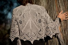 The Lace Eater Shawl (handknit shawl design - http://www.ravelry.com/patterns/library/the-lace-eater)