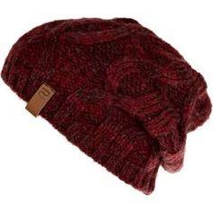 red knit beanie - Penelusuran Google