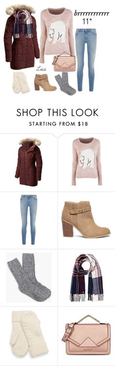 """""""Brrrrrrrrrrrrr"""" by coolmommy44 ❤ liked on Polyvore featuring SOREL, Givenchy, Sole Society, J.Crew, Lipsy and Karl Lagerfeld"""