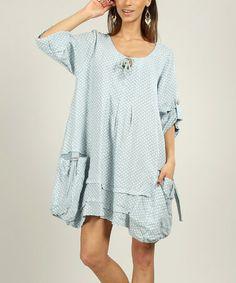 Look at this #zulilyfind! Sky Mathilde Linen Dress by Un Coeur en Ete #zulilyfinds