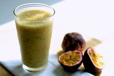 This simplesmoothie is arefreshingway to start your day, due to the aromatic properties of fresh passion fruit. Ifthe fruitis not in season or readily available fresh in your area, feel free to use frozen passion fruit purée -just watch for added sugar in some conventional packaged brands. Non-frozen bananas can be used as well, but …