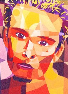 interesting self portraits abstract - Google Search
