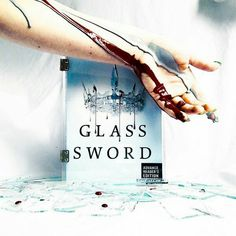 Glass Sword book - Silvers & Reds