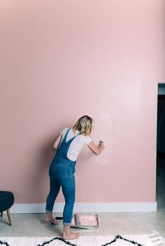 - Best ideas for decoration and makeup - Pink Accent Walls, Pink Bedroom Walls, Bedroom Wall Colors, Accent Wall Bedroom, Pink Walls, Bedroom Decor, White Walls, Accent Wall Colors, Effortless Chic