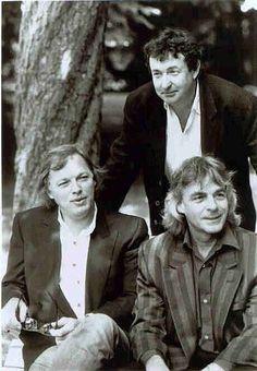 David Gilmour, Nick Mason, Richard Wright