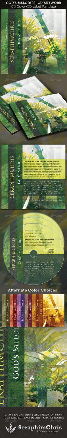 godfather chronicles mixtape cd template