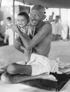 The weak can never forgive. Forgiveness is the attribute of the strong. - Mahatma Gandhi Being Strong Charles Darwin, Karl Marx, Rare Pictures, Rare Photos, Salvador Dali, Mahatma Gandhi Photos, Indira Ghandi, History Of India, Vintage India