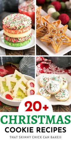 Best Cookie Exchange Recipes from That Skinny Chick Can Bake blog Christmas Deserts, Christmas Food Gifts, Best Christmas Cookies, Christmas Cooking, Holiday Cookies, Christmas Goodies, Holiday Baking, Holiday Fun, Delicious Cookie Recipes