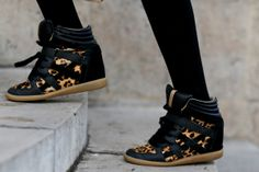 leo isabelle marant sneakers Paris Fashion Week Fall 2014 Models