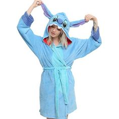 New Stitch robe from @hottopic #disney #liloandstitch #stitch #hottopic