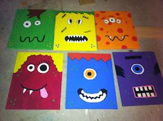 Teaching Maddeness - Monster canvases for the classroom