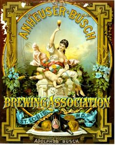 Anheuser-Busch Brewing Association St. Louis MO. Give him something special for his man cave or home bar with a archival beer ad from the Missouri History Museum's photos and prints collection. Framed prints starting at $29.95.
