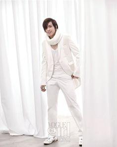 Jung Yong Hwa in Vogue Girl Korea