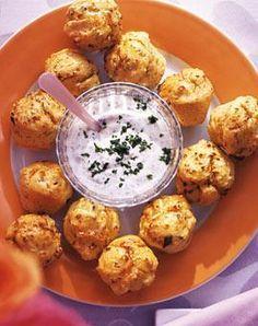 Rezept: Würzige Käsemuffins