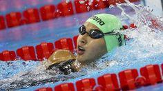 13-year-old swimmer Singh wins 100m backstroke heat