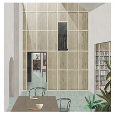 St. Loo - OMMX. A proposal to refurbish a top floor apartment in Chelsea