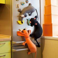 игрушки-магниты на холодильник - Поиск в Google