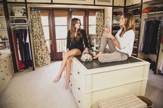 Cindy Crawford's Closet Is as Amazing as You Expect (But Don't Get Any Ideas, Kaia! Room Closet, Master Closet, Walk In Closet, Celebrity Closets, Celebrity Houses, Celebrity Style, Cindy Crawford Home, Beautiful Closets, Beautiful Homes