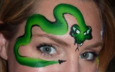 Fast Snake Face Painting