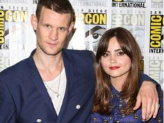 """Doctor Who"" stars Matt Smith and Jenna Coleman discuss the 50th Anniversary special, working with David Tennant and preparations for a new Doctor."